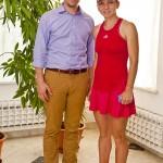 Cu Simona Halep La Bucuresti Open - 2014