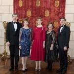Cu Principele Radu, Principesa Margareta, Principesa Maria, Principesa Sophia, Nicolae - Palatul Elisabeta.