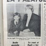 Expres Magazin din  29 aprilie 1992 a publicat poza Principelui împreună cu mama sa la București