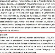 Cristoiublogro pe 11 04 2020 Iohannis trebuie audiat la Parlament