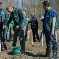 """Iohannis la plantat de copac pentru a preveni Coronavirus' o lună înainte ca Papa să declare că Virusul e datorat """"schimbărilor climatice"""""""