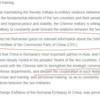 Ministrul chinez îi oferă gen Ciucă toate detaliile despre Plenara Partidului comunist chinez
