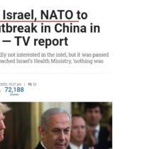 Presa israeliană semnalează România membră NATO a știut din Nov 2019 despre pandemie