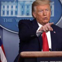 Trump acuză OMS