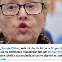 """Avocatul-Poporului-Renate-Weber-salvează-onoarea-marilor-bărbați-de-stat-din-Opoziție-și–solicită-""""clarificări""""-despre-închiderea-websiteurilor-sursa-Antena3"""
