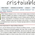 """Cristoiublog anunță Ziua când Iohannis a vorbit de """"vânzarea Ardealului"""" este ziua când Ungaria a primit mai multe fonduri pentru Corona decât România"""