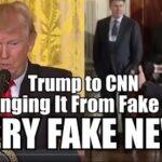 """Donald Trump actualizează """"statutul"""" CNN de la """"Fake News"""" la """"Very Fake News"""""""