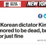 După știrea CNN lumea are două opțiuni Kim e mort sau nu e mort