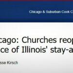 Presa americană a reluat pe larg subiectul bisericilor redeschise cu sfidarea ordinului Guvernatorului