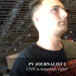 """Producător CNN este întrebat de un jurnalist Project Veritas dacă CNN este """" imparțial"""""""