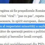 """Schwartz scrie la DW de """"respectata minoritate a sașilor ardeleni"""" Altfel spus există și minorități """" nerespectate"""" în România"""