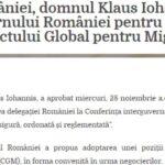 """2018 Klaus Iohannis zice că nu a avut ce face și a semnat un Pact pe Migrație controversat """"la propunerea"""" Veoricăi Dăncilă"""