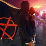 Membri Antifa la protestele din Minneapolis