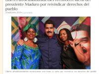 Opal Tometi fondator Black Lives Matter apare în propaganda dictatorului Maduro a cărui poliție e vestită pentru brutalitate