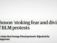 """Presa cvasi neomarxistă gen """"Guardian"""" anunță pe prim ministrul Boris Johnson ce e """"primejdios"""" să zică"""