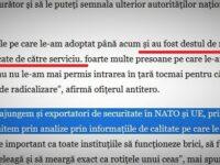 """SRI zice că a dejucat """"destul de multe"""" acte teroriste și că România """"e exportator de Securitate"""""""