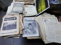 Dintre-sute-de-ziare.-România-în-muncă-și-imagini-(1971),-ediție-specială-dedicată-sultanul-Muhamed-al-V-lea.-A-murit-un-an-mai-târziu-și-n-a-mai-apucat-să-vadă-prăbușirea-Imperiului.