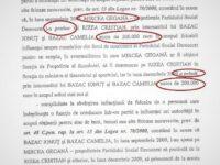 """Pe un document publicat de Rizea DNA zice că Mircea Geoană a """"pretins"""" și """"primit"""""""