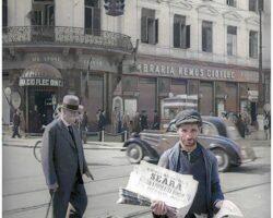 Bulevardul-Elisabeta1944.jpgLibraria Remus Cioflec ulterior Academiei