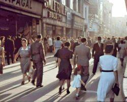Lipscaniul asfaltat inainte de 1949