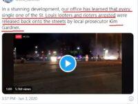 """Procurorul general spune că toți cei care au jefuit magazine la """"proteste"""" au fost eliberați de procuroarea """"activistă"""" Gardner"""