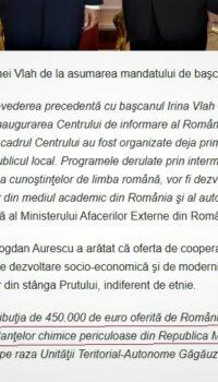 România dă 450000 euro pe neutralizarea pesticidelor din Moldova Oricum vin a ltele dinspre Georgia