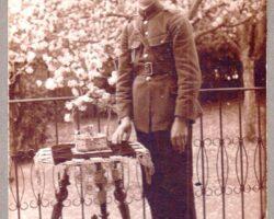Bunicul Tiberiu elev la Liceul Militar in 1922