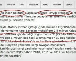 Presa turcăPusulagazetesi Erdogan este întrebat în Parlament în legătură cu milionul de cartușe goale din România