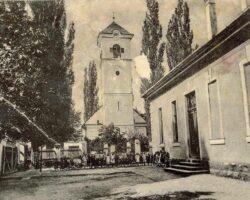 Scoala de pe strada Horia ilustrată veche