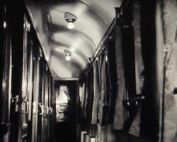 interior coridor tren 1960