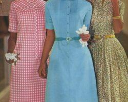 rochii anii 1960