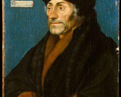 Erasm din Rotterdam 1532 Holbein cel Tanar
