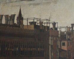 Gentile Bellini Procesiune în Piața San Marco, detaliu