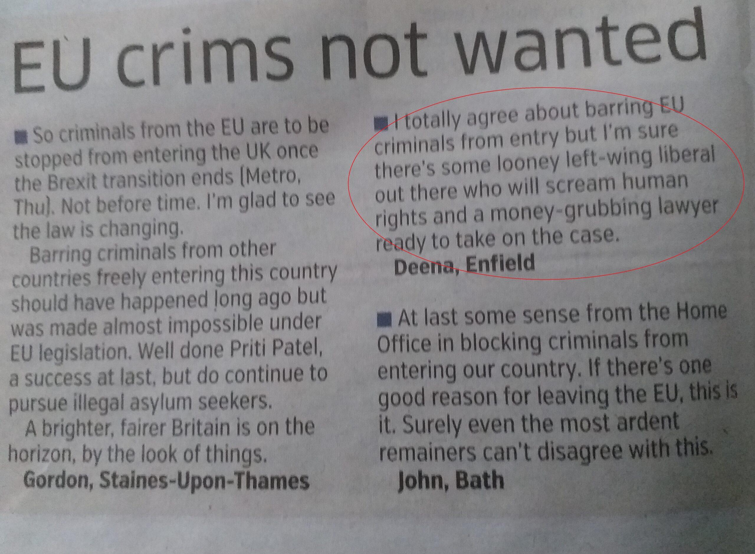 """INCREDIBIL Mirare mare că un avocat poate accepta un """"infractor UE"""""""