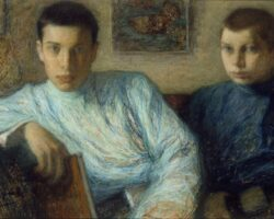 Leonid_Pasternak_-_Boris_and_Alexander