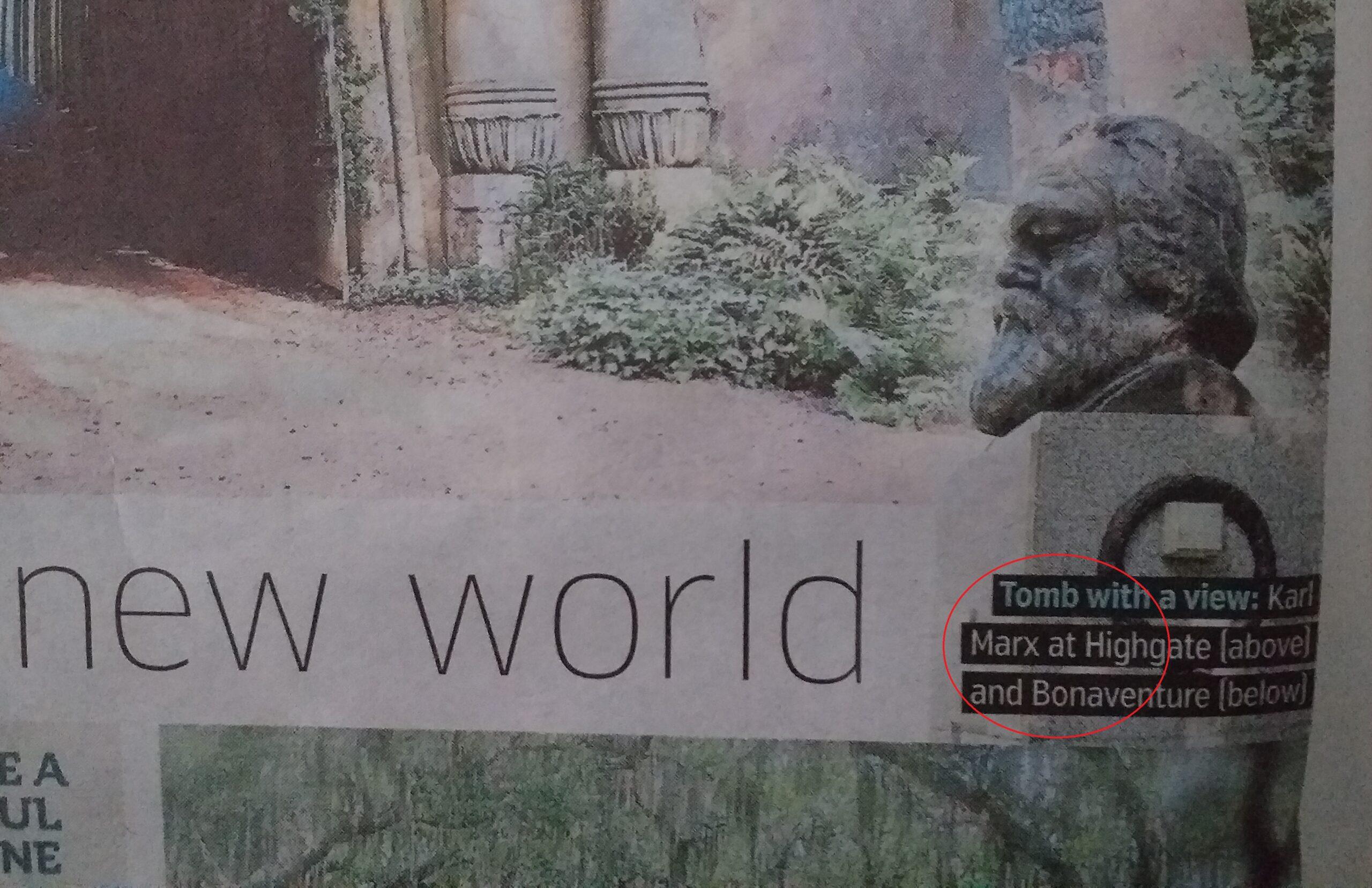 Metro te cheama sa vizitezi mormantul lui Marx