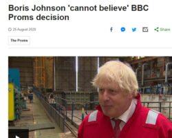 Premierului britanic nu îi vine să creadă că BBC a decis cenzurarea unor versuri patriotice