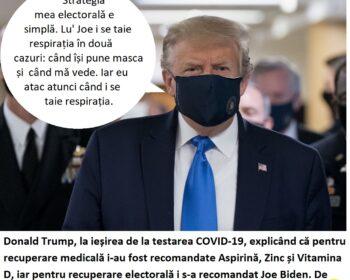 Trump are COVID