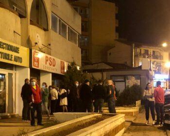 protest PSD Constanta