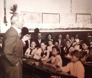 Bunicul Cezar Ivașcu in clasa Orastie (1959)