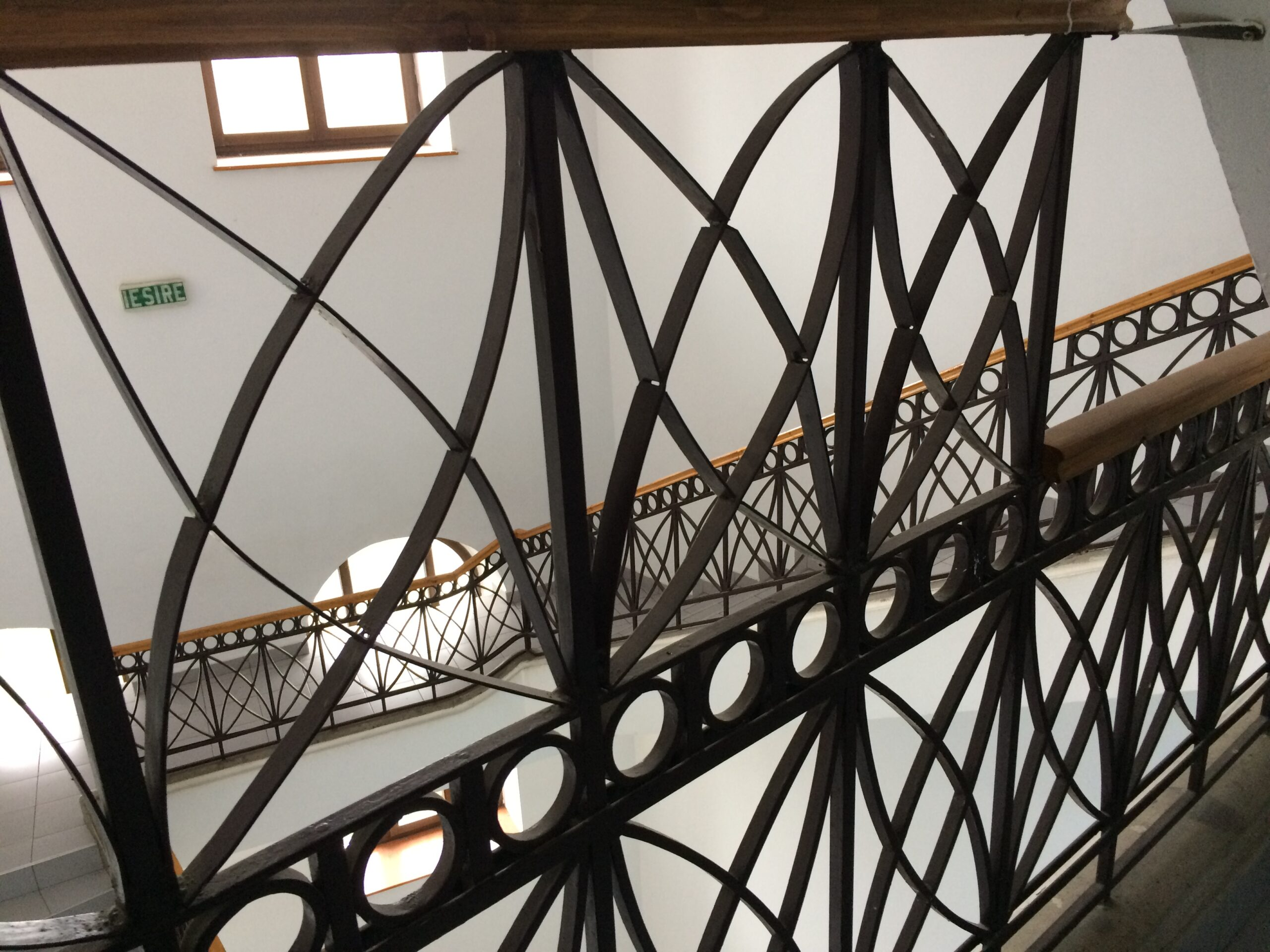 LMV balustrada scării