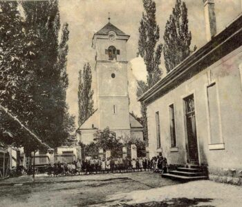 Scoala-de-pe-strada-Horia-ilustrată-veche-