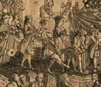 revolutia franceza propaganda prin arta- jonglerul