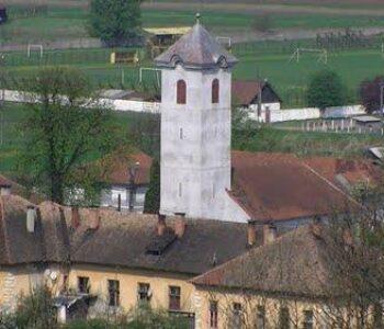 scoala-si-turnul-Bisericii-Reformate-