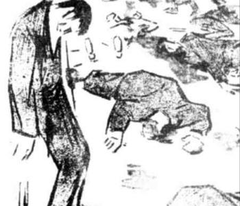 Tonitza desen 13 decembrie 1918
