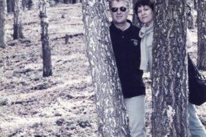 Mihaela și Tutore Gafton în natură