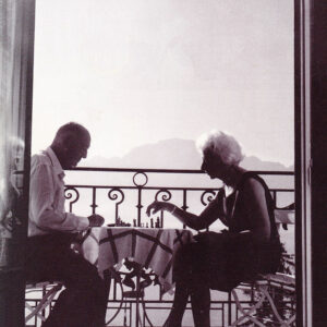 Vladamir-and-Vera-Nabokov-Chess-on-Balcony