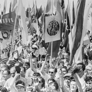 tineri la Festival 1953