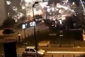 Atacarea unui Comisariat de poliție cu mortiere