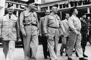 Puciul generalilor, 21 aprilie 1961, Alger